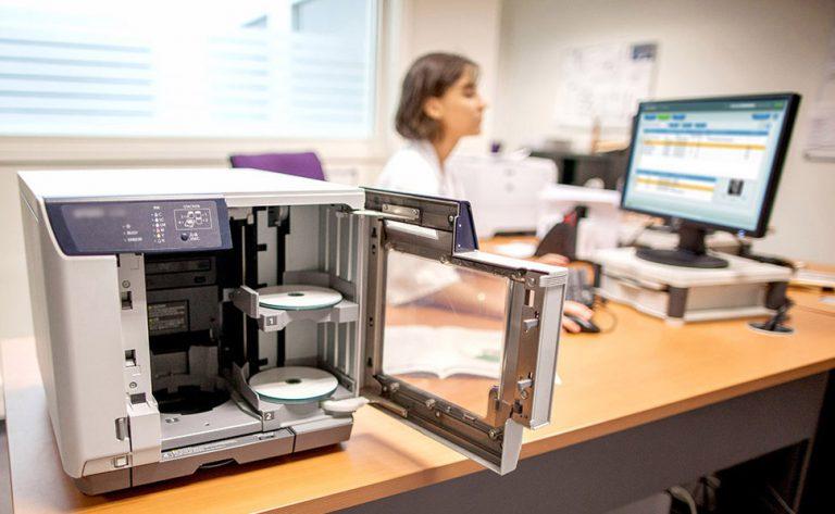 ACETIAM MARS - production automatique CD/DVD imagerie médicale - ACETIAM